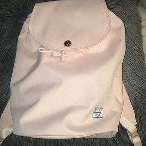 Small Pink Herschel Backpack
